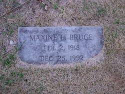 Maxine Elizabeth <I>Steere</I> Bruce
