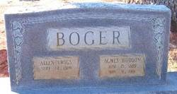 Allen Twigs Boger, Sr