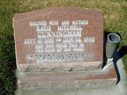 "Carolyn Kay ""Katie"" <I>Mitchell</I> Cunningham"