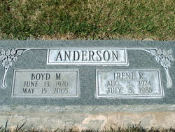 Irene R <I>Blundell</I> Anderson