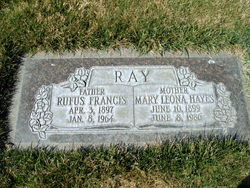 Mary Leona <I>Hayes</I> Ray