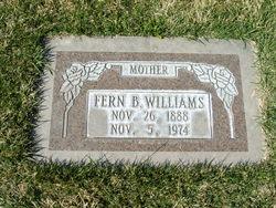 Fern Elmina <I>Brown</I> Williams