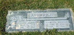 Clara Feametta <I>Johnson</I> Cartwright