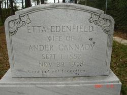 Etta <I>Bird</I> Cannady