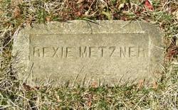 "Fredrick Rex ""Rexie"" Metzner"