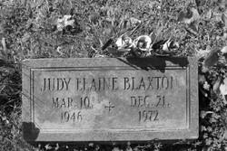 Judy Elaine Blaxton