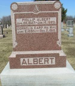 Cornelia <I>Earp</I> Albert