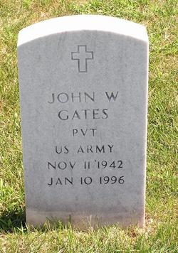 PVT John William Gates, Jr
