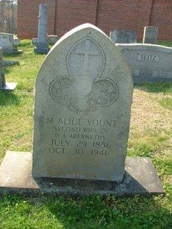 M. Alice <I>Yount</I> Abernethy