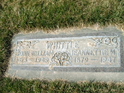 Jeanettie <I>Mauchley</I> Whittle