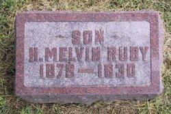 Harrison Melvin Ruby