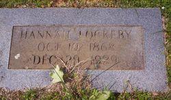 Hannah Minerva <I>Hethcock</I> Lockeby
