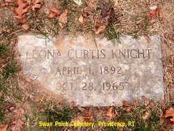 Leona Virginia <I>Curtis</I> Knight