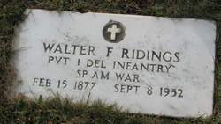 Walter F. Ridings