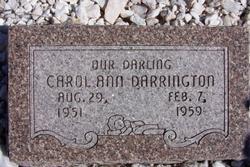 Carol Ann Darrington