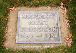 Margaret K <I>Kraft</I> Broderson