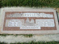 Christine Adderine <I>Kessner</I> Rosse
