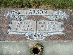 Lucile Laura <I>Pearson</I> Larson