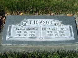 Irena Mae <I>Jenson</I> Thomson