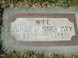 Ardis Lavon <I>Rosse</I> Baty