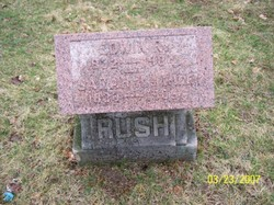 "Sarah ""Sally"" <I>Kendall</I> Rush"