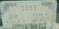 Lillie Elizabeth <I>Laprarie</I> Ebey
