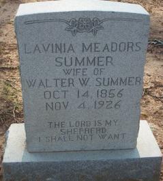 Lavinia <I>Meadors</I> Summer