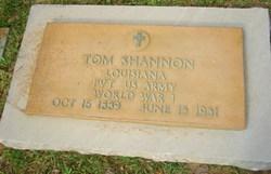 """Thomas """"Tom"""" Shannon"""