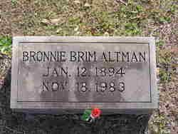 Bonnie <I>Brim</I> Altman