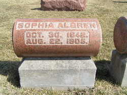 Sophia Anna <I>Swensen</I> Algren