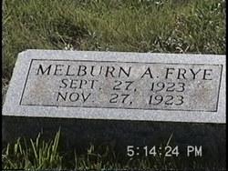 Melburn Arthur Frye