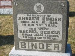 Rachel <I>Dedels</I> Binder