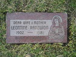 Leontine <I>Claeys</I> Radzwion