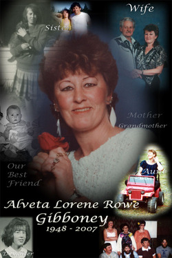 Alveta Lorene <I>Rowe</I> Gibboney