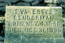 Eva Jane <I>Estes</I> Benderman