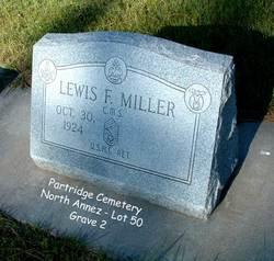 """CMSGT Lewis Franklin """"Lew"""" Miller"""