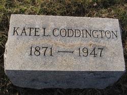 Kate <I>Leonard</I> Coddington
