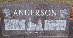 Betha Vilate <I>Anderson</I> Anderson