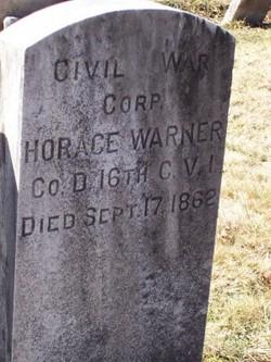 Corp Horace Warner