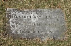 Margaret Bechstein <I>Hays</I> Easton