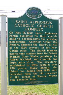 Saint Alphonsus Roman Catholic Church Cemetery