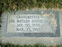 Ada Matilda Anderson