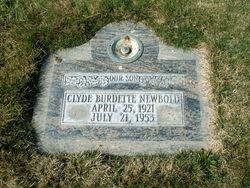 Clyde Burdette Newbold