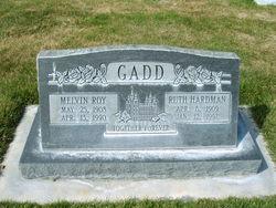 Ruth Almira <I>Hardman</I> Gadd