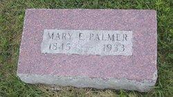 Mary Elizabeth <I>Sentance</I> Palmer