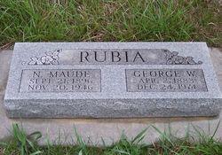 Nettie Maud <I>Baird</I> Rubia