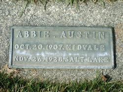 Abbie La Verne <I>Jenkins</I> Austin