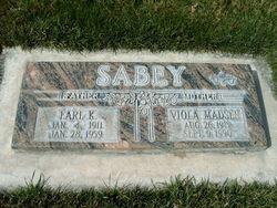 Viola <I>Madsen</I> Sabey