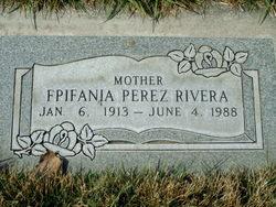Epifania <I>Perez</I> Rivera