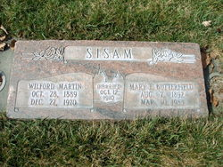 Mary Elizabeth <I>Butterfield</I> Sisam